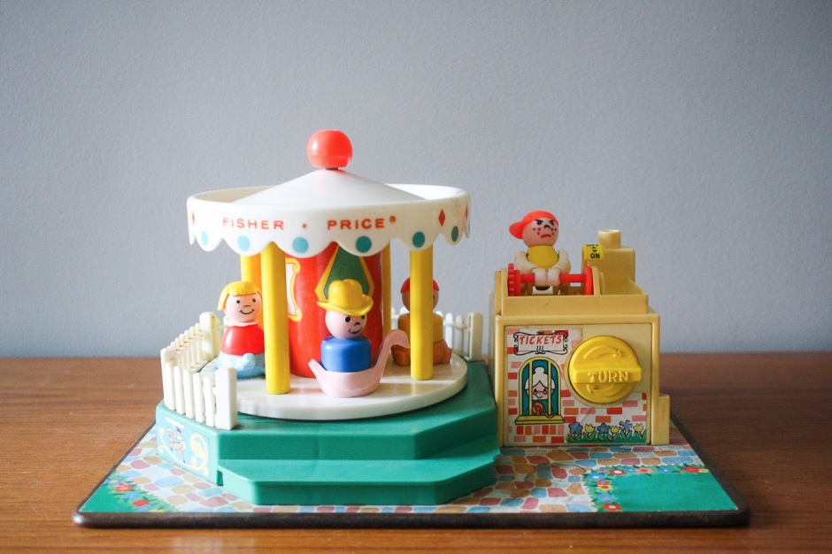 carrousel-merry-go-round-fisher-price-vintage
