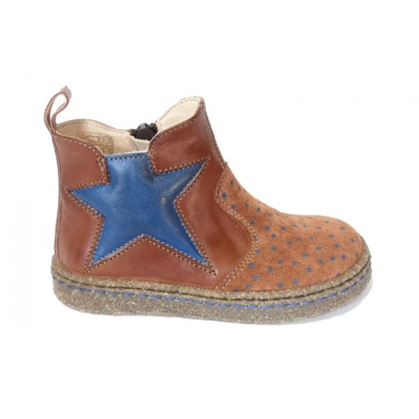 ocra-003-boots-croute-rouille-etoiles-bleu