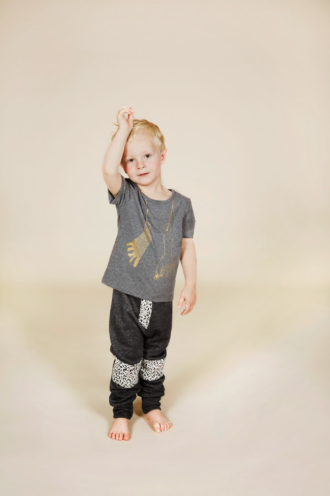 Bang Bang Copenhagen - SS15 Footie T-shirt- Hero Pants 2