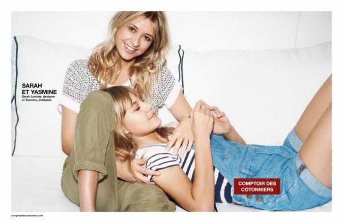 Mode-Photos-Sarah-et-Yasmine-Lavoine-egeries-complices-pour-Comptoir-des-Cotonniers_portrait_w674