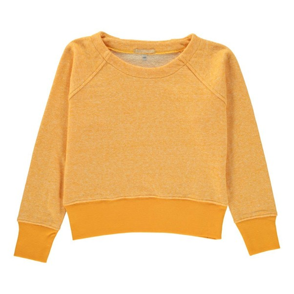 sade-motttled-sweatshirt-yellow